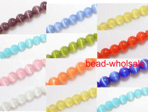4m-6m-8m-12m-Round-Glass-Ball-Fake-Cats-Eye-Spacer-Beads-For-Necklace-Bracelet