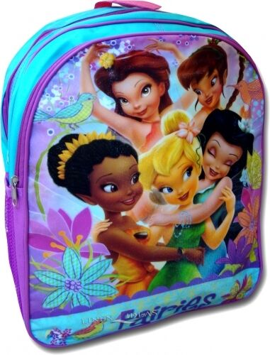 Disney Fairies School Bag Rucksack Backpack Brand New Gift