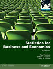 Statistics for Business and Economics: Global Edition by Betty Thorne, William Carlson, Paul Newbold (Paperback, 2012)