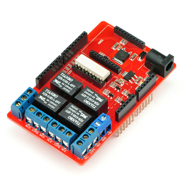 Relay Shield for Arduino - 4 Mechanical Channel