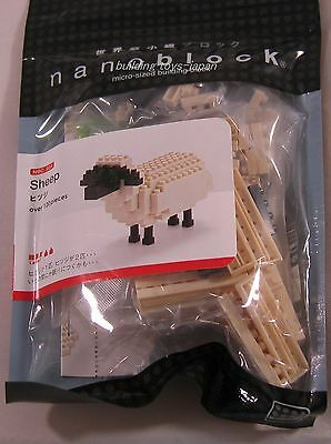 Kawada Nanoblock Mini Sheep - japan building toys blocks NBC-054 New!