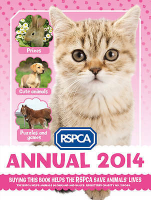 """""""AS NEW"""" RSPCA,, Annual 2014 (RSPCA), Hardcover Book"""
