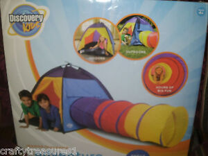 ... NIB-DISCOVERY-KIDS-ADVENTURE-PLAY-TENT-INDOOR-OUTDOOR- & NIB DISCOVERY KIDS ADVENTURE PLAY TENT INDOOR OUTDOOR DOME TUNNEL ...