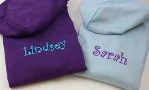 Adults-Girls-Ladies-Personalised-Hoodies-Embroidered-with-Crystals-4-Colours