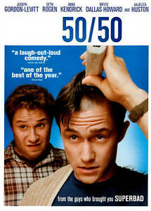 50/50 (DVD, 2012) *LIKE NEW*