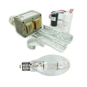 Metal-Halide-Lamp-Ballast-Kit-400W-4-Tap-120V-208V-240V-277V-with-400W-ED28-Bulb