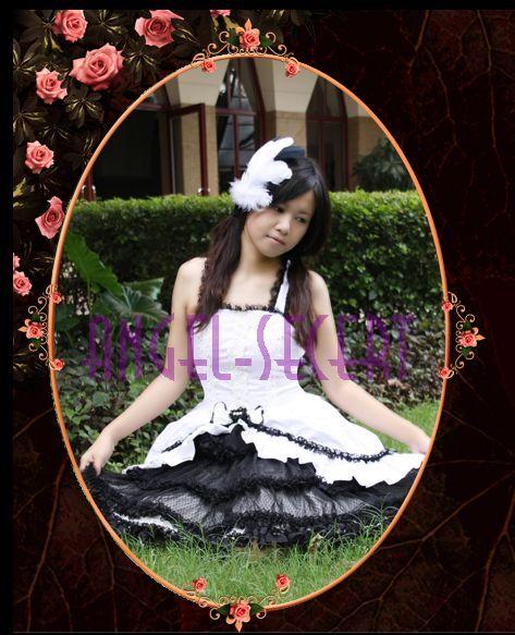 KW1 women LOLITA gothic COSPLAY DRESS ONE PIECE costume S M L XL XXL 3XL