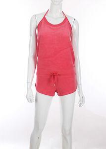 Victorias-Secret-Terry-short-halter-jumpsuit-XS-S-M-L-XL