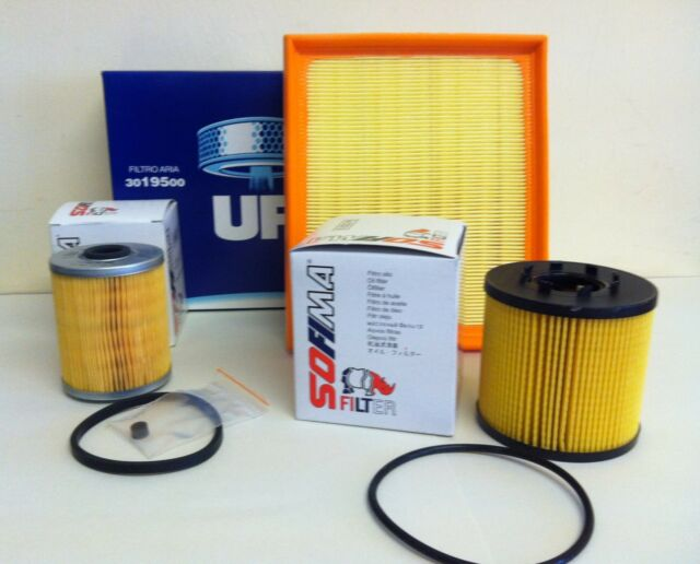 FOR RENAULT LAGUNA MK2 ESPACE MK4 2.2 DCI 01-07  SERVICE KIT OIL AIR FUEL FILTER