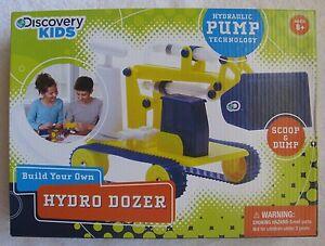 DISCOVERY-KIDS-Build-Your-Own-HYDRO-DOZER-BULLDOZER-New-Sealed