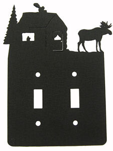 Moose-amp-Cabin-Double-Switch-Cover-Plate-Black