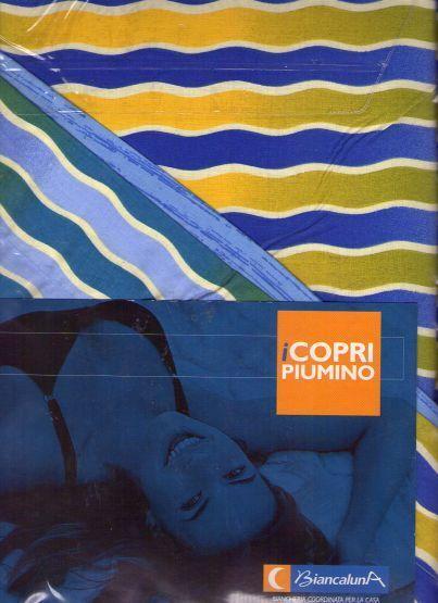 COPRIPIUMINO COPRIPIUMINO COPRIPIUMINO CON FEDERA  SINGOLO PURO COTONE  WeißLUNA  PRODOTTO IN ITALIA c25b8d