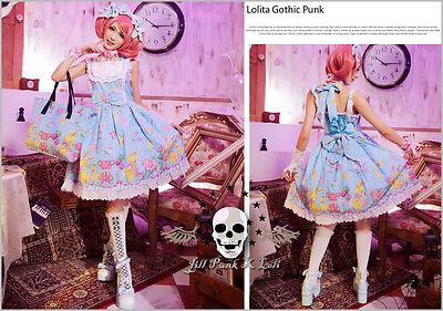 Lolita visual fairy fantasy Scrump Incorporation Dumbo heaven Waitress dress BU