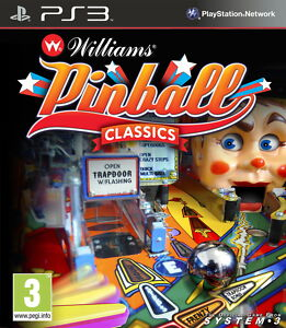 Williams-Pinball-Classics-PlayStation-3-PS3-Game-Spiel-Flipper-Klassiker-Neu-OVP
