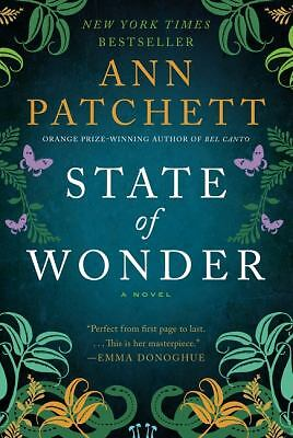 State of Wonder by Ann Patchett (2012, Paperback)