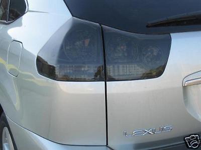 04-09 LEXUS RX 330 350 400h SMOKE TAIL LIGHT PRECUT TINT COVER SMOKED OVERLAYS