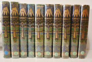 J-R-R-Tolkien-The-Hobbit-1st-Edition-to-10th-Impressions-w-original-jackets