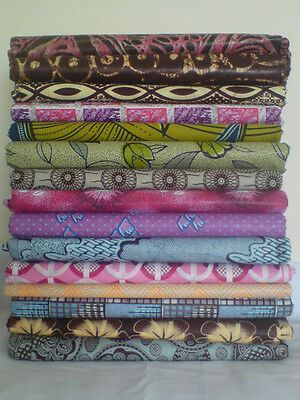 "African Fabric 100% Cotton Sold by 1 Yard x App. 44/45/46"" Clothing Beautiful"
