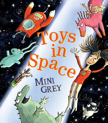 Toys in Space, Grey, Mini, Hardcover, Very Good Book