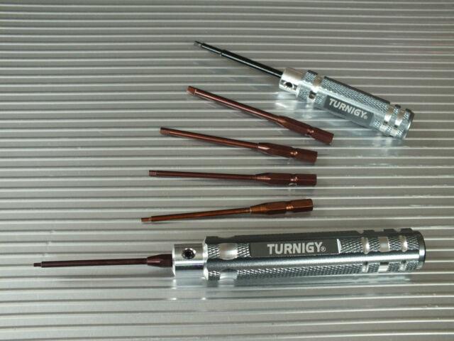 Schraubendreher Set  Innensechskant 1,5 2,0 2,5 3,0 mm Turnigy Werkzeug