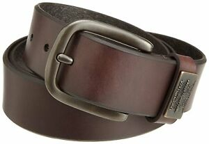 Levi-039-s-Men-039-s-Bridle-Leather-Belt-With-Ornament-loop-ornament-Brand-new