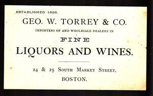 34319-LATE-1800s-TORREY-amp-CO-LIQUORS-amp-WINES-MARKET-ST-BOSTON-CALLING-CARD