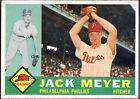 1960 Topps Jack Meyer 64 Baseball Card