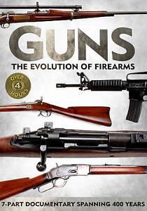 Guns-The-Evolution-of-Firearms-DVD-2013-2-Disc-Set-Brand-New