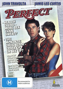 Perfect-DVD-2013-Region-4-Used-Like-NEW-RARE-Jamie-Lee-Curtis-John-Travolta