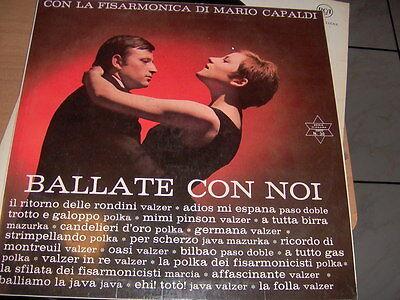 """LP 12"""" BALLATE CON NOI CON LA FISARMONICA DI MARIO CAPALDI EX+/EX NIAGARA N.30"""