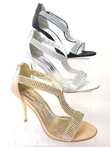da-donna-Anne-Michelle-strass-sandali-l3368-oro-argento-e-nero