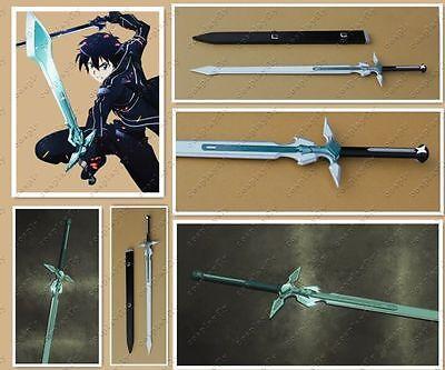 New Style Sword Art Online Kazuto Kirigaya Kirito White Sword Cosplay Prop