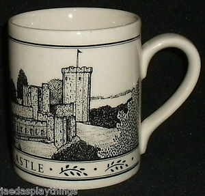 "Warwick Castle Caesars Tower England 3.5"" Mug Cup FREE US Shipping"