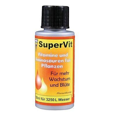50ml Hesi Super Vit Dünger für alle Substrate Grow Vitamine Vitalstoffe Supervit