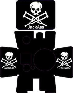 Jack ass decals