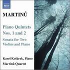 Bohuslav Martinu - Martinu: Piano Quintets Nos. 1 & 2 (2007)