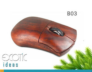 Natural-Redwood-2-4GHz-Wireless-Wooden-Mouse-Rechargeable-Battery-Built-in-B03