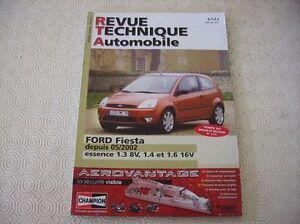REVUE-TECHNIQUE-FORD-FIESTA-ESSENCE-depuis-2002