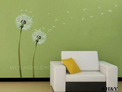 Dandelion Flower Removable Wall Art Decal Vinyl Stickers Mural Home Decor DIY