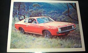 1976 CHRYSLER VALIANT CHARGER - Sanitarium WEETBIX AUSTRALIA Swap Card