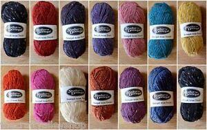 Studio-Donegal-Aran-Tweed-100-Pure-New-Irish-Wool-FROM-IRELAND-50g-Ball