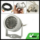"F5 Networking 6mm Lens 12 F5 Leds 1/4"" Ccd Security Ir Cctv Camera"