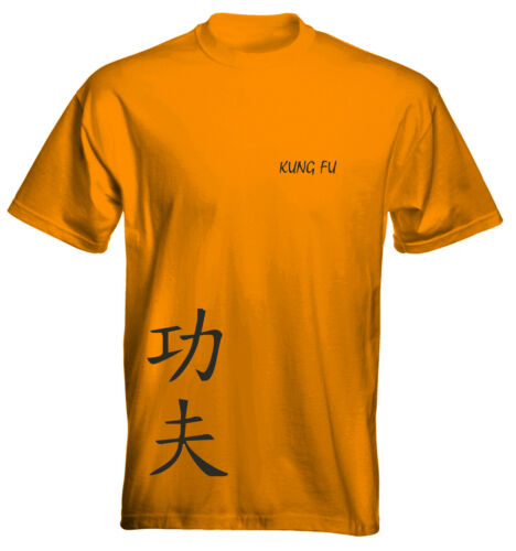 Velocitee Kids T-Shirt Kung-Fu Martial Arts Size and Colour Options UK Seller