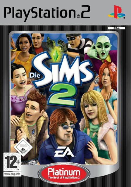 Die Sims 2 (Sony PlayStation 2, 2008, DVD-Box)