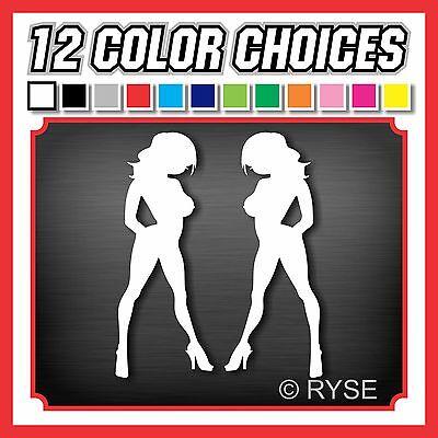 "12"" Skin Girls Decal Mudflap Sexy So Cal SoCal Cute Race MX ATV Window XBOX PS3"