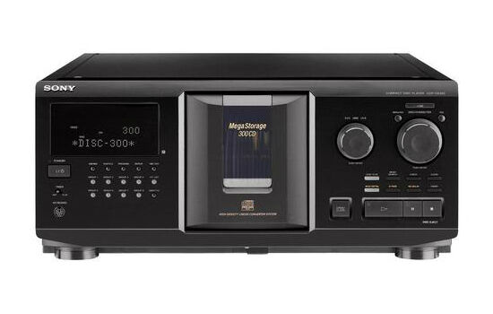 Sony 300 Disc CD Changer Player Programmable Mega Storage CDP-CX350