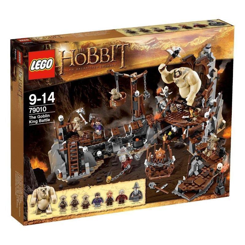LEGO 79010 The Hobbit The Goblin King Battle NEW & SEALED