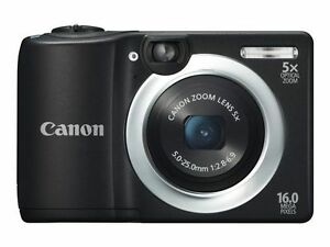 New-Canon-PowerShot-A1400-16-0-MP-Digital-Camera-Black