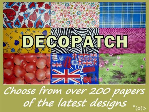 10 x Full Sheet Decopatch Papers Of Your Choice with FREE UK 1st Class Post