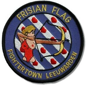 AIR-FORCE-PATCH-COLLECTIONS-FRISIAN-FLAG-EXERCISE-FIGHTER-TOWN-LEEUWARDEN-AB